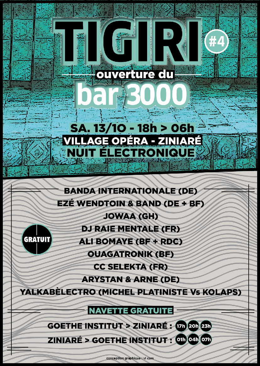 Opening Bar3000 Tigiri Festival At Operndorf Afrika Operndorf Afrika